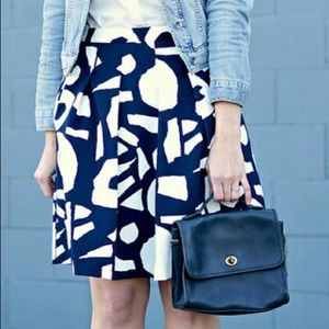 LOFT Bedrock Skirt in Forever Navy